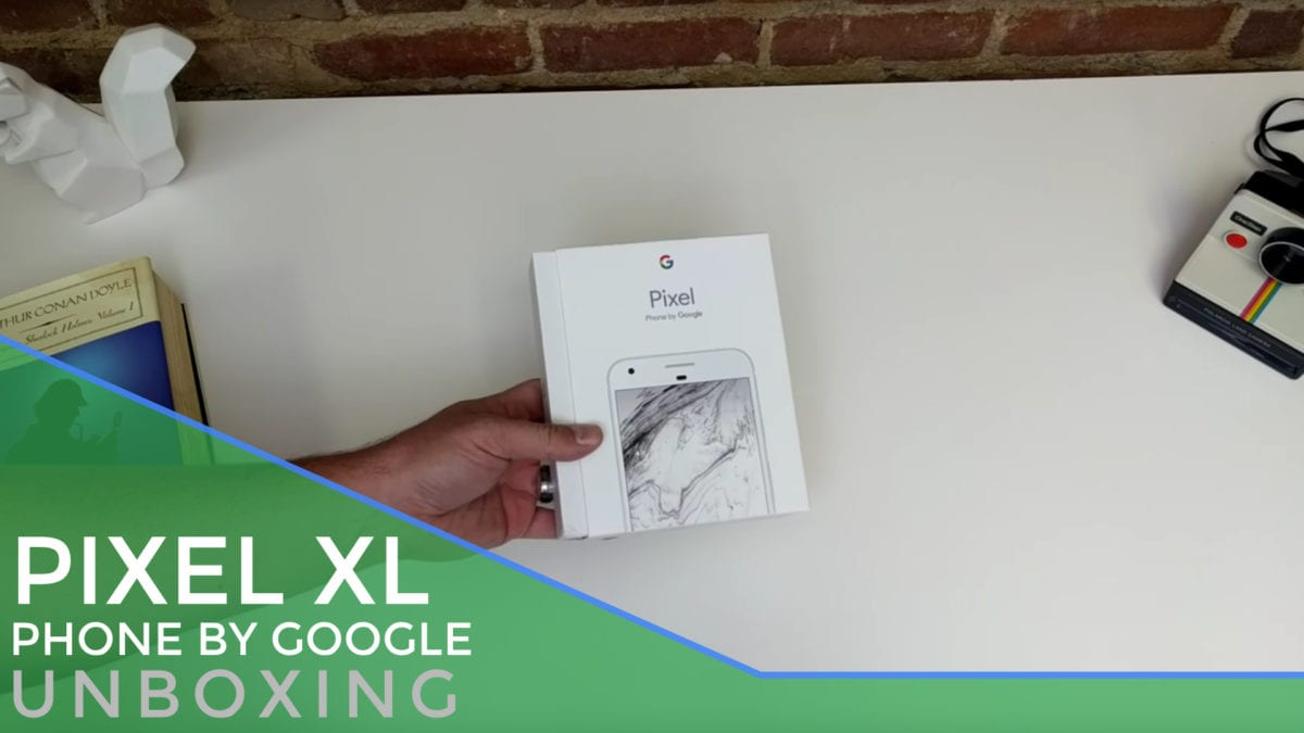 Google Pixel XL Unboxing and First Impressions