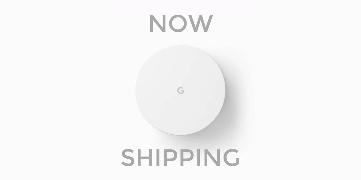 Google Wifi Now Shipping!