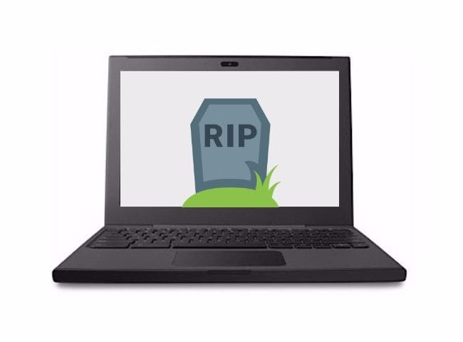 Google's Iconic Cr-48 Chromebook's End Of Life May Have Arrived