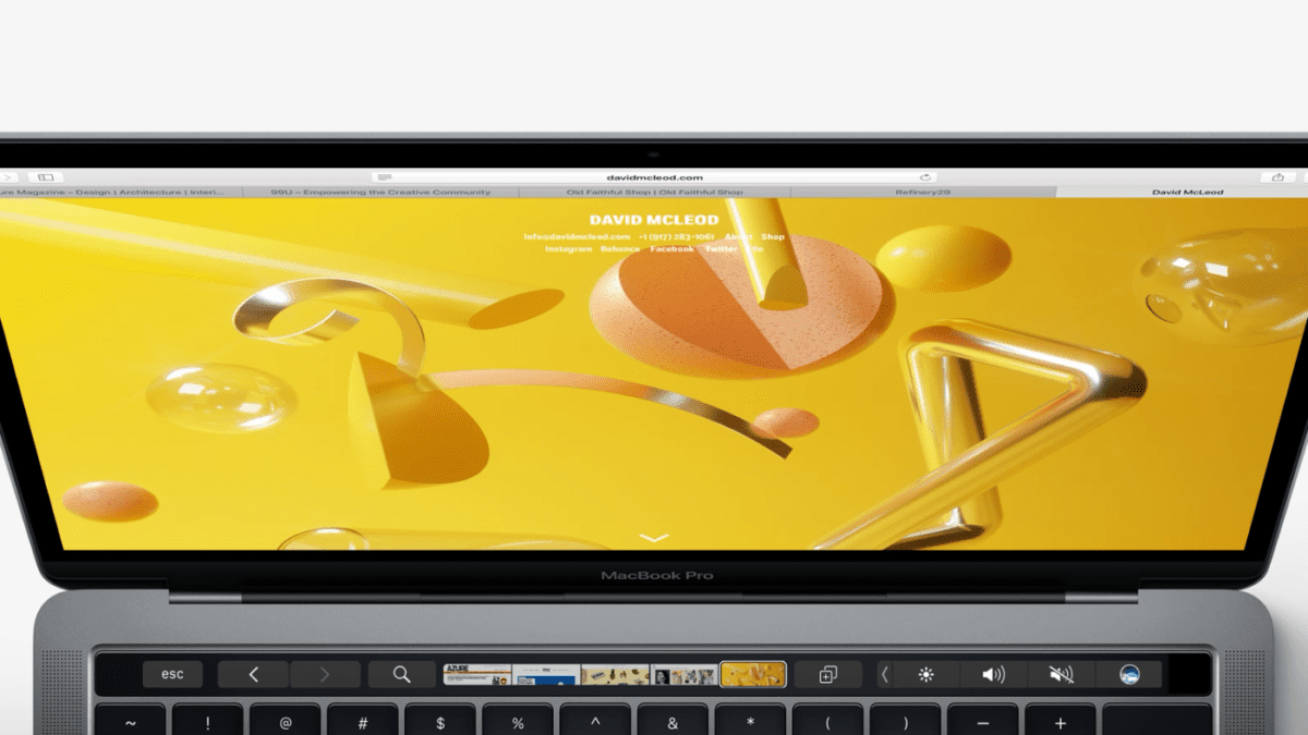 Chrome 60 Launches With TouchBar Support For MacOS