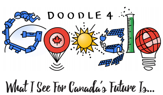 Doodle 4 Google: Canada's K-12 Students Can Win A Chromebook And Much More