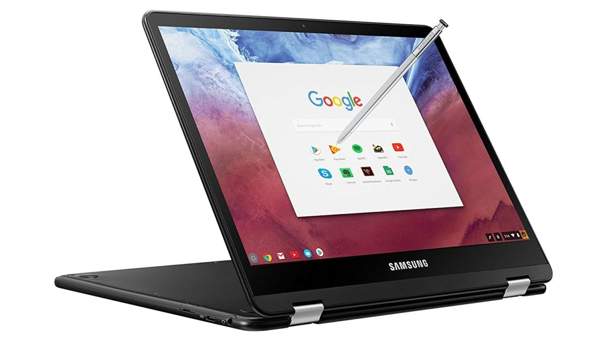 A Clue From The Samsung Chromebook Pro's Amazon Listing