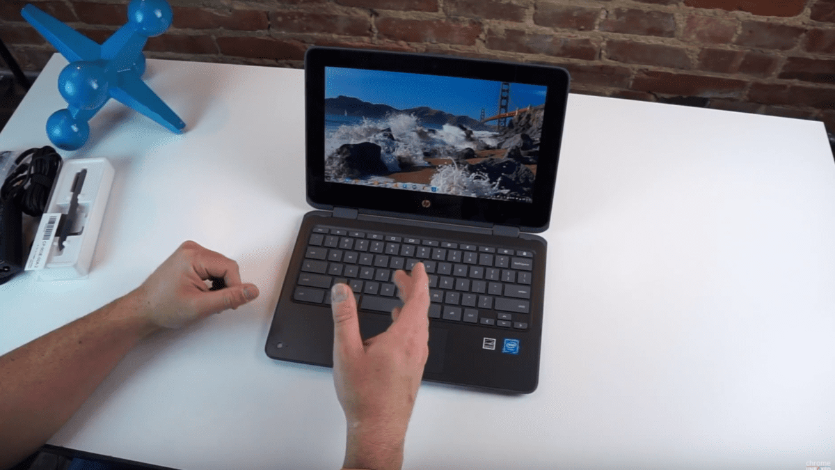 HP x360 Chromebook 11 Unboxing
