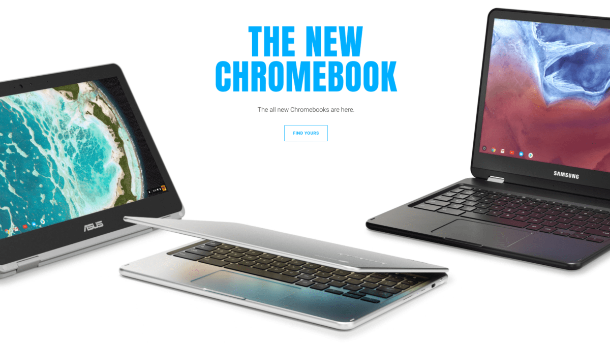 Google Launches A Fresh, New Chromebook Landing Page
