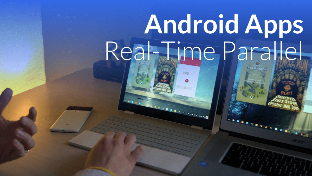 Android Parallel Tasks Incoming With Chrome OS 64 [VIDEO]