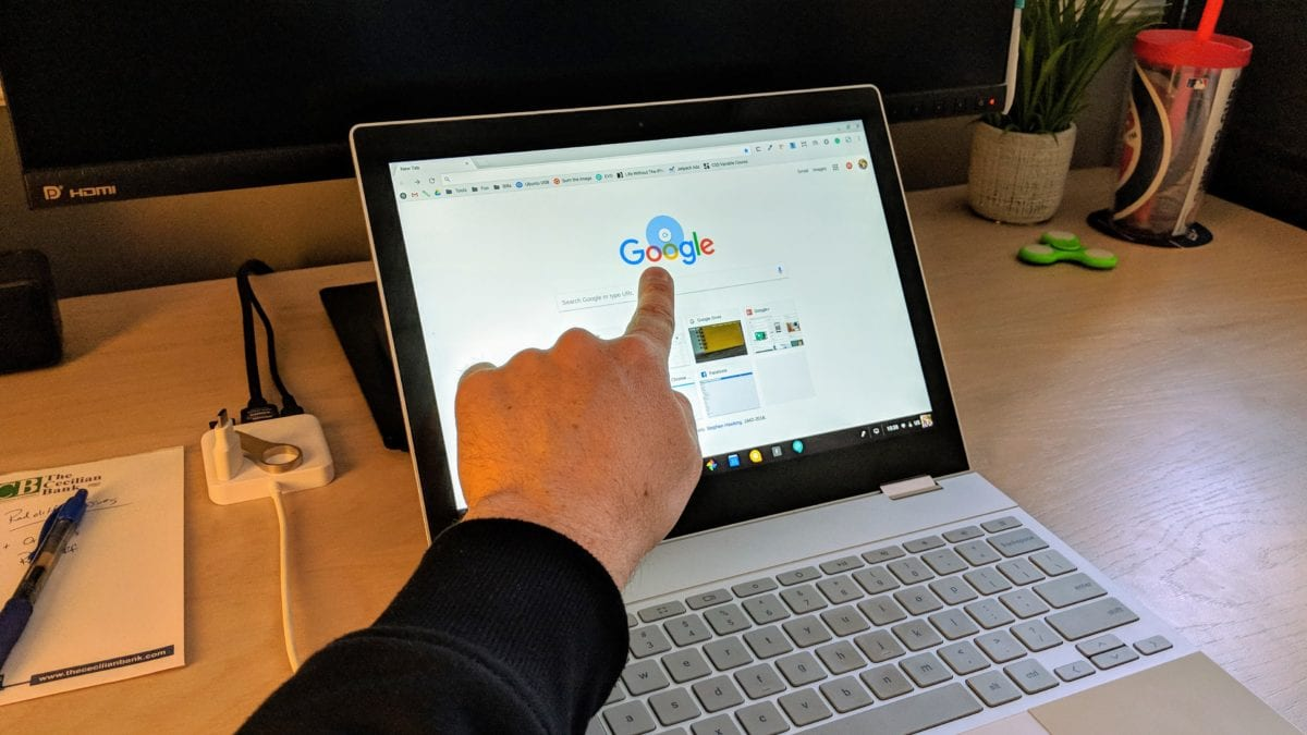Drag Down To Refresh Now Available On Chromebooks In Stable Channel