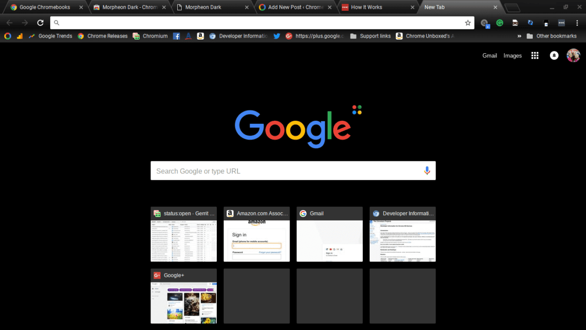 Morpheon Dark: The Humble Story Of The World's Most Popular Chrome Theme
