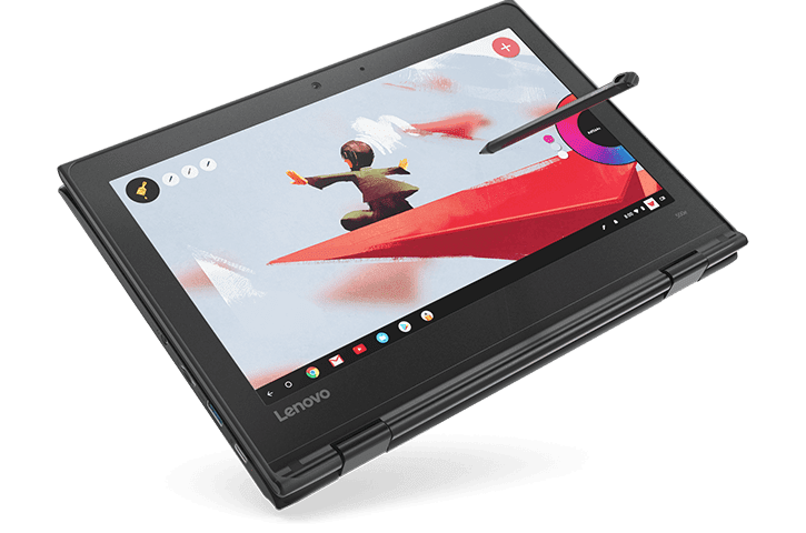 8GB/64GB Lenovo 500e Chromebook Now Available