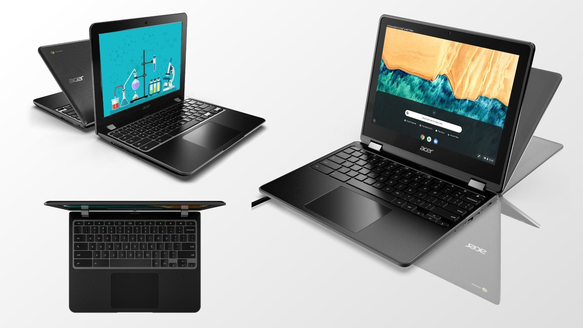 Two New 12-Inch EDU Chromebooks By Acer Bring an Exciting New Feature