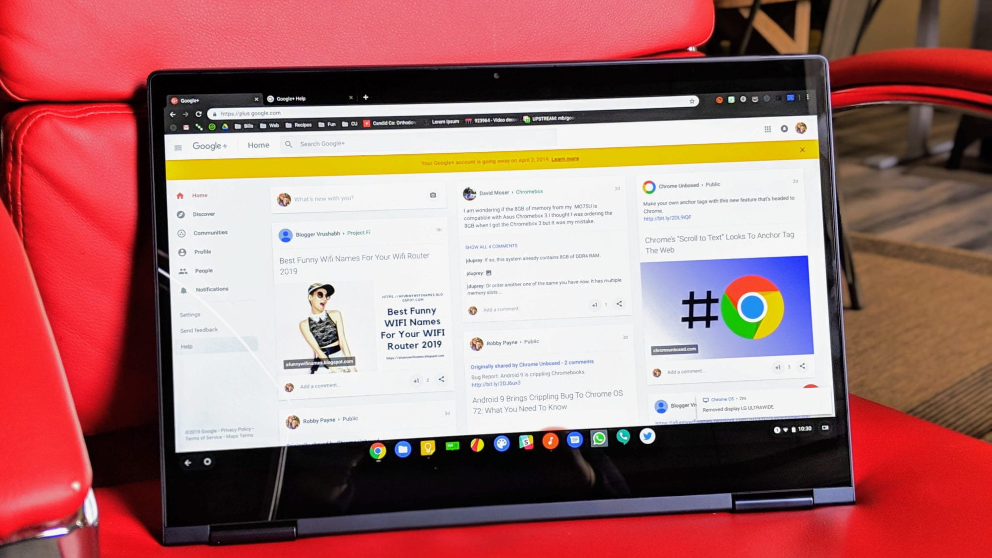 Is Your Google Account Going Away? No, But Your Google+ Account Is