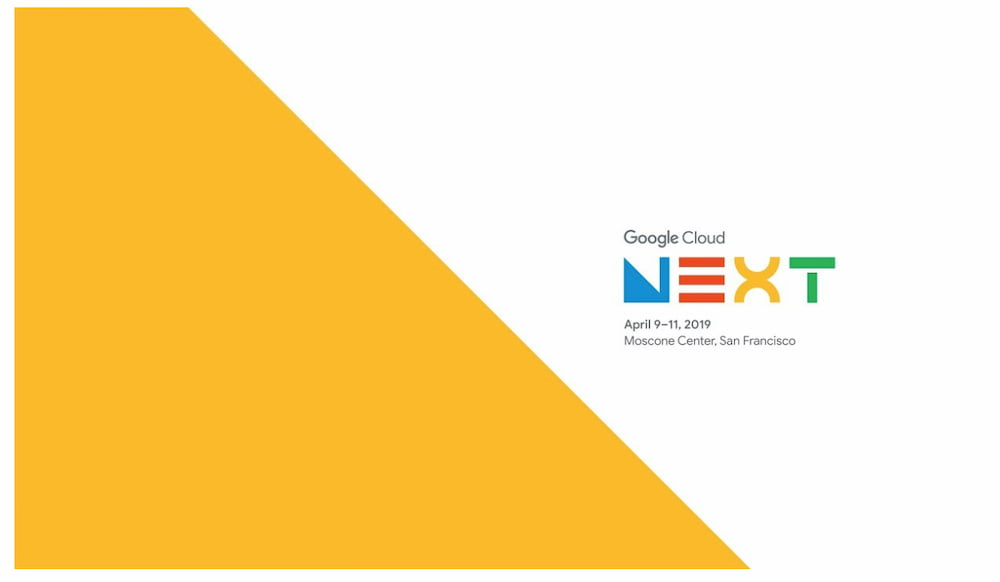 Join Our Google Cloud Next '19 Keynote Live Chat Today @ 9PDT/12EDT