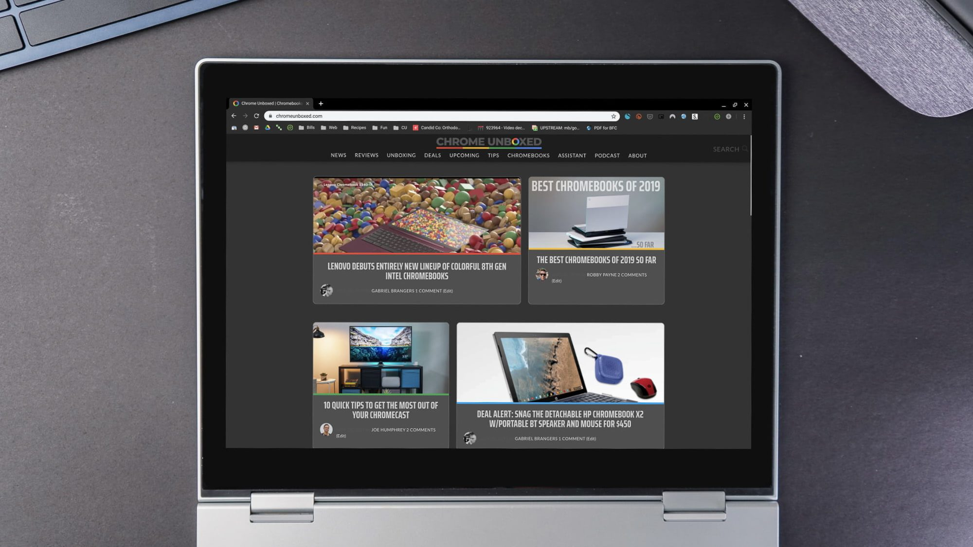 Chrome dark mode for web content coming soon to Chrome OS