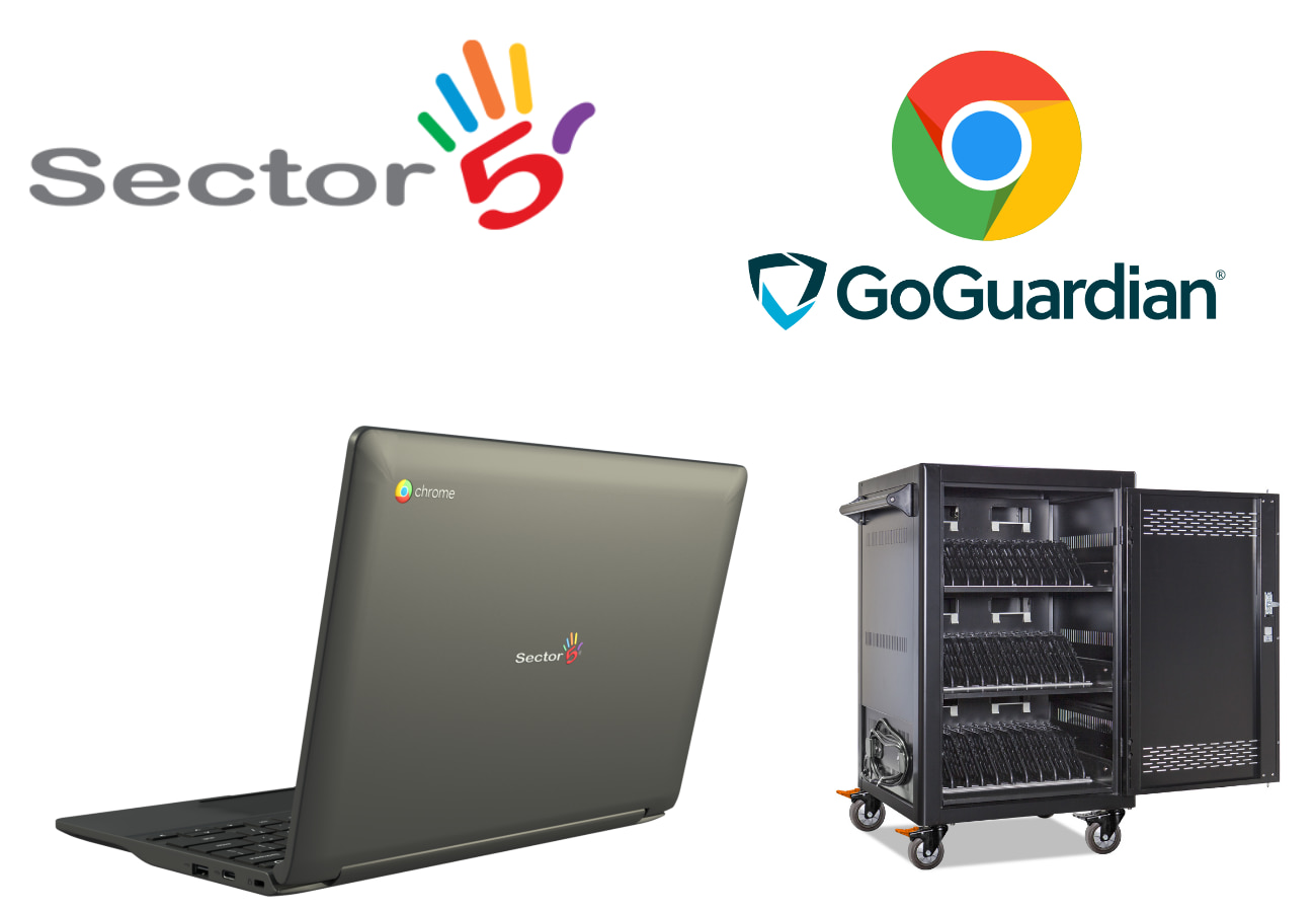 Save thousands with the Sector 5 Ultimate Chromebook Bundle for educators