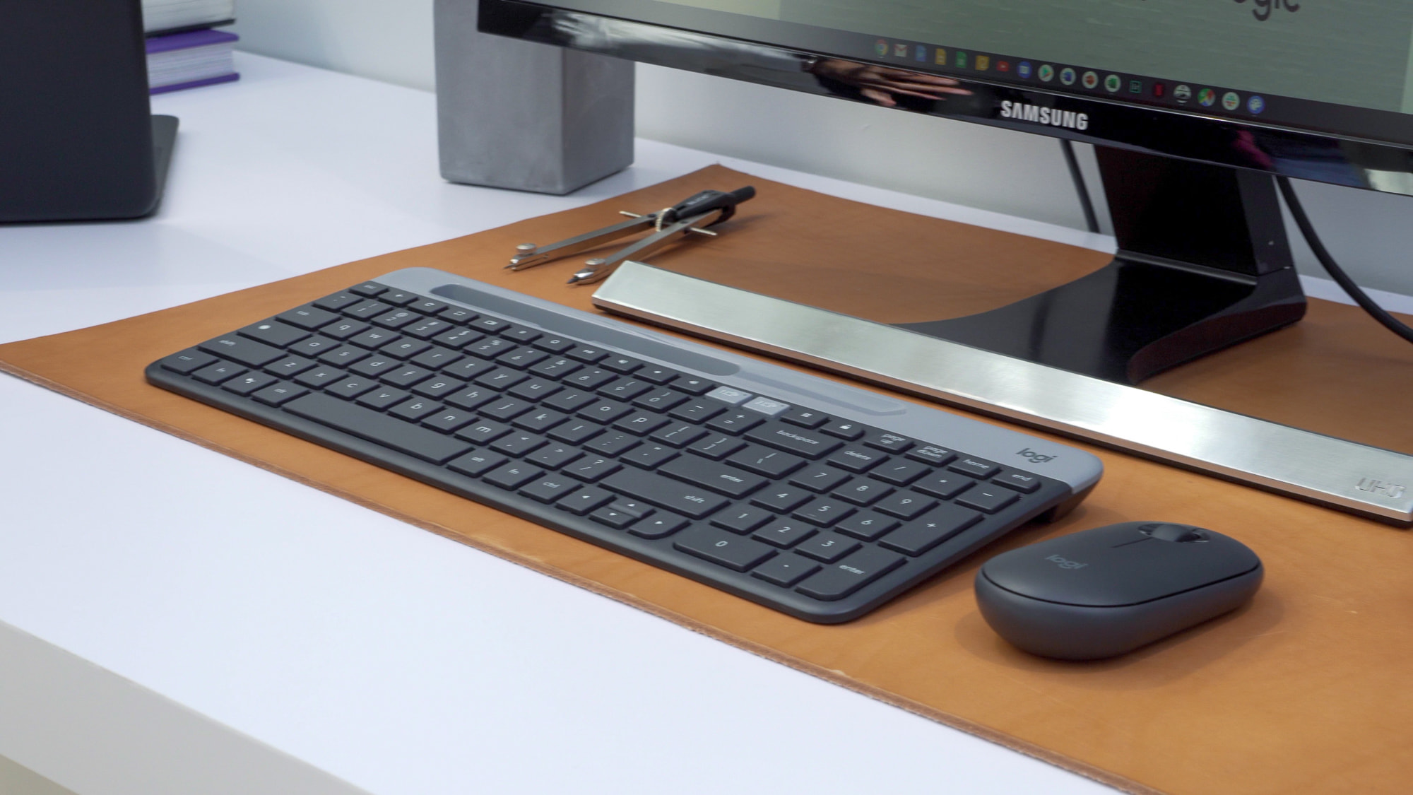 Logitech quietly sneaks in rumored Chrome OS keyboard and mouse at Google event [VIDEO]
