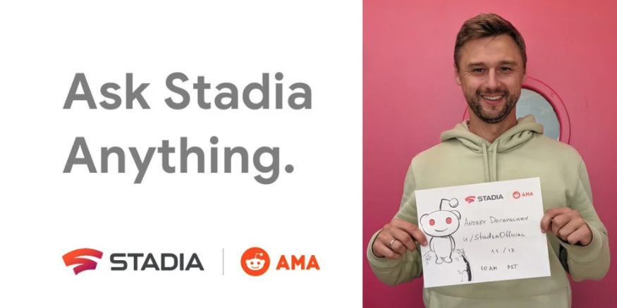 One final Stadia AMA is happening tomorrow so get your questions ready