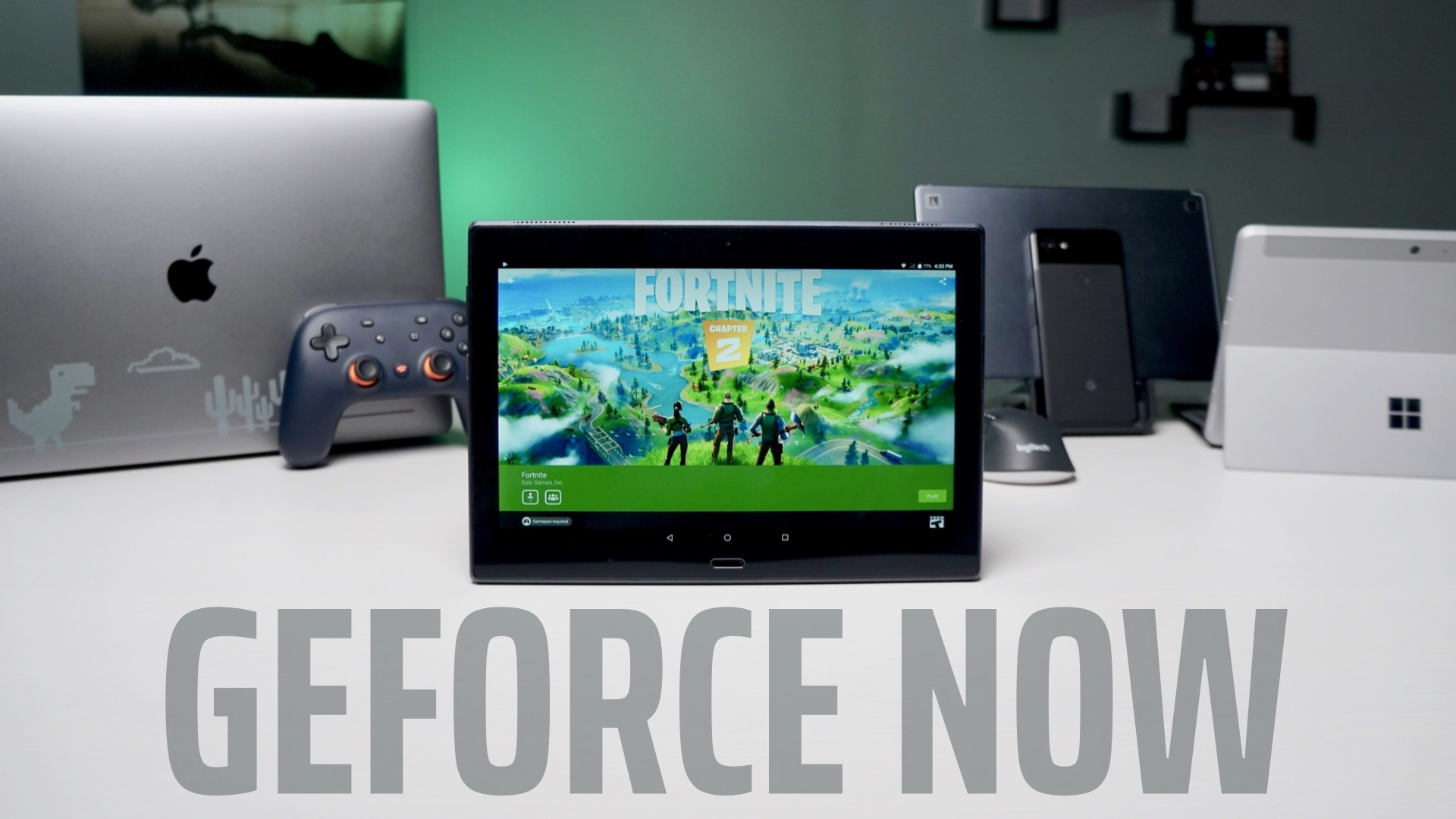 NVIDIA GeForce NOW Android app may not be coming to Chromebooks after all