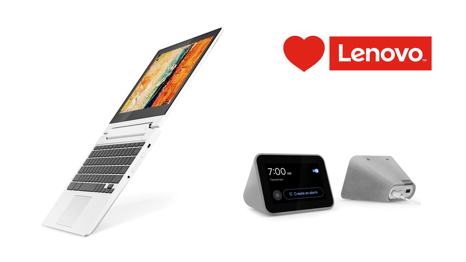 Last-minute Valentine's Day ideas from Lenovo for the techie you love