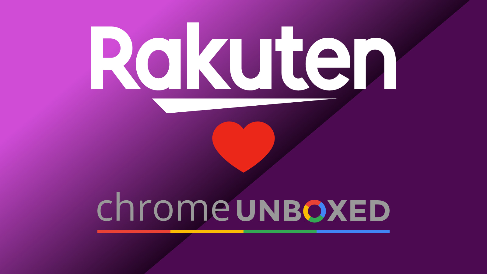 Score 14% cashback and enter to win $250 from Rakuten and Chrome Unboxed