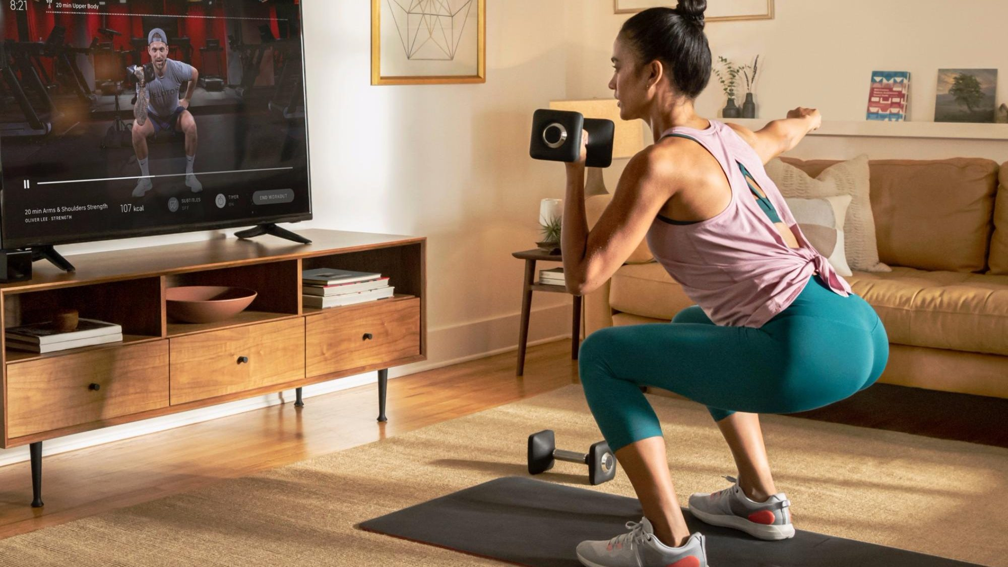 Missing the gym? Peloton App extends trial to 90 days and it works with Chromecast