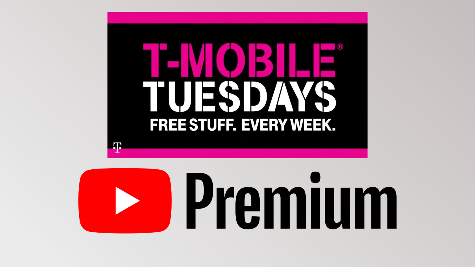 T-Mobile customers! Act fast and get 2 months of YouTube Premium for free