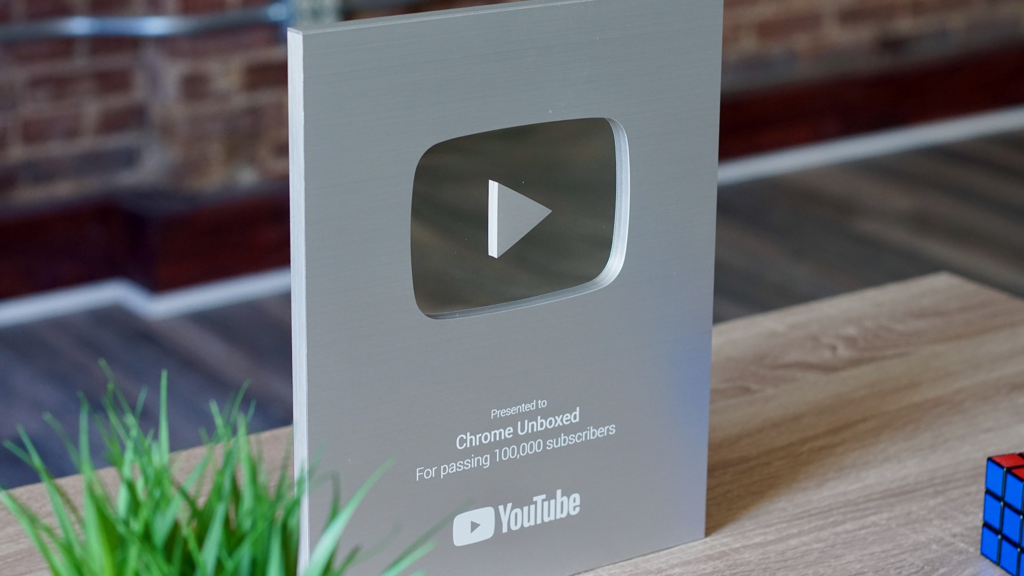 A very unique unboxing video from Chrome Unboxed