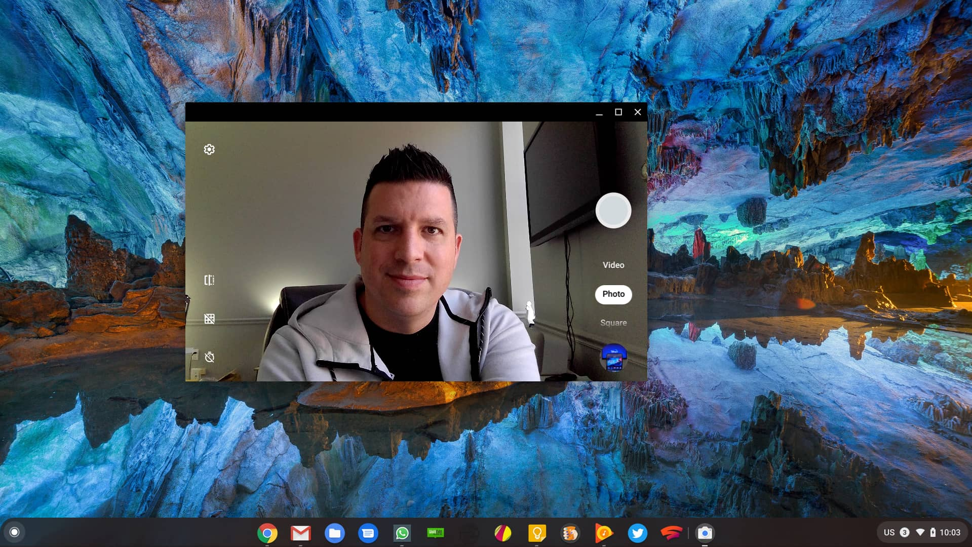 Chromebook cameras being tested with more advanced imaging options for better video chats