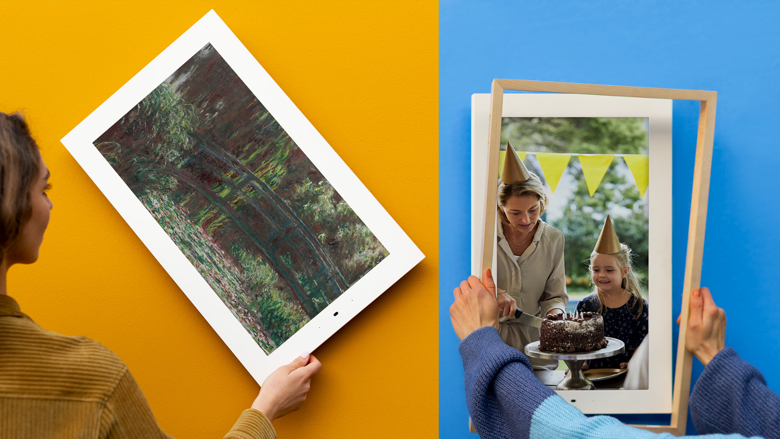 Lenovo's Smart Frame from CES is launching with Google Photos integration