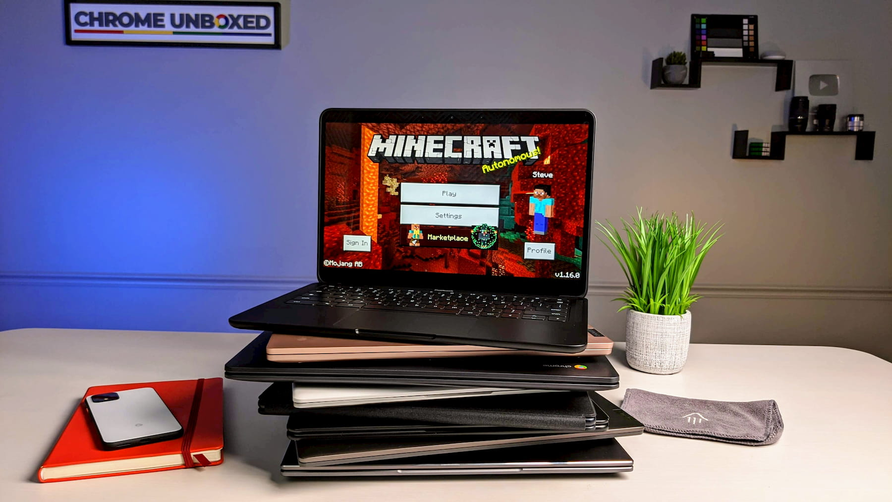 Latest Minecraft Android update breaks compatibility for all Chromebooks except one