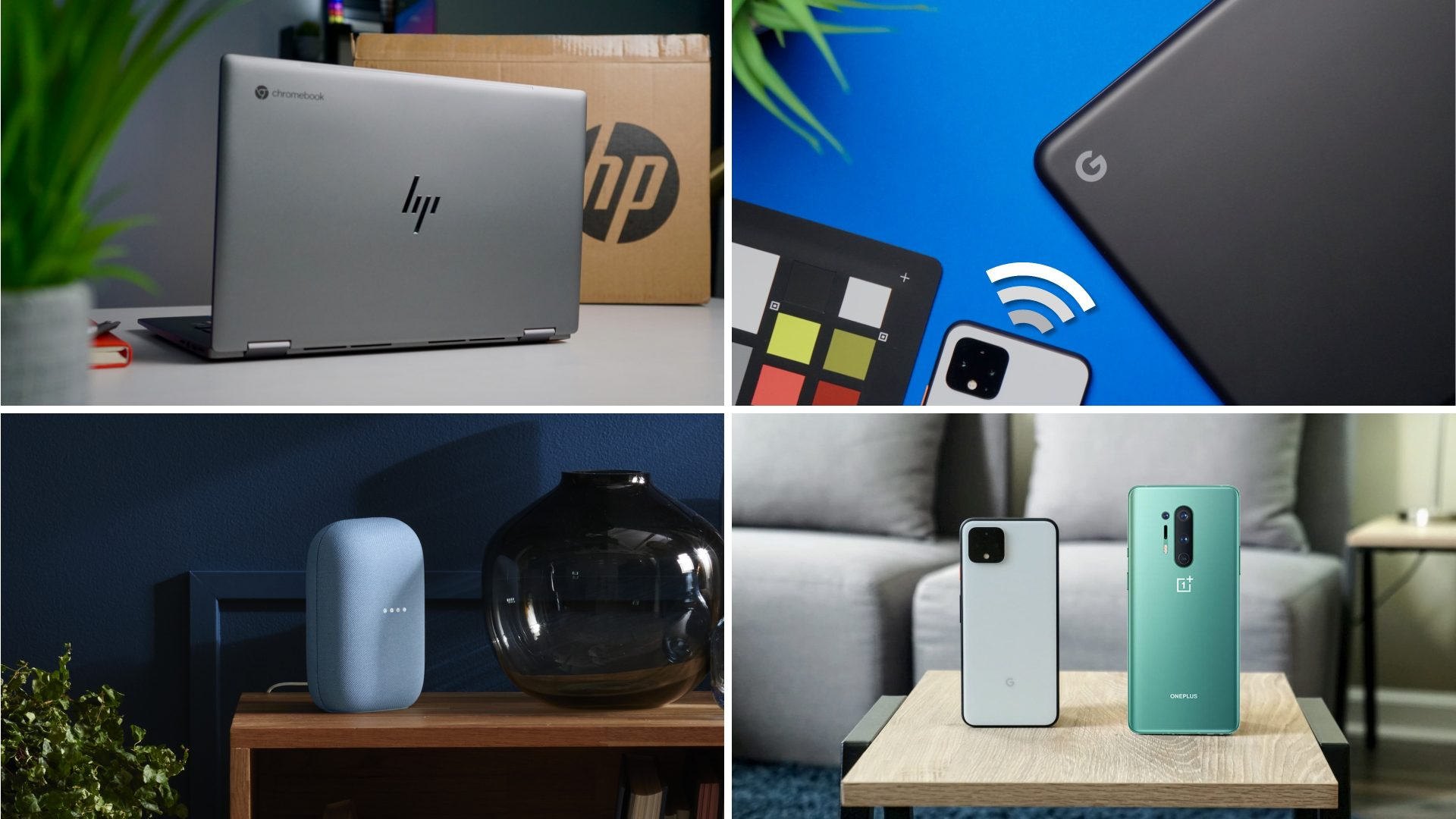 Top Stories This Week: HP x360 14c unboxed and on sale, Steam on Chrome OS, new Google Home & more
